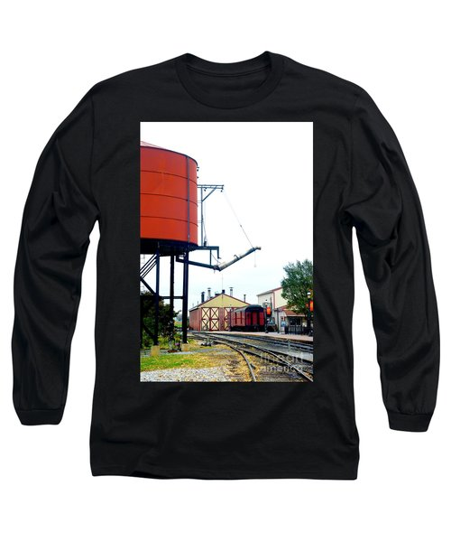 Long Sleeve T-Shirt featuring the photograph The Water Tower by Paul W Faust - Impressions of Light