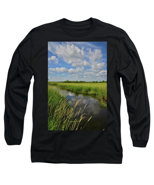 The Wetlands Of Hackmatack National Wildlife Refuge Long Sleeve T-Shirt