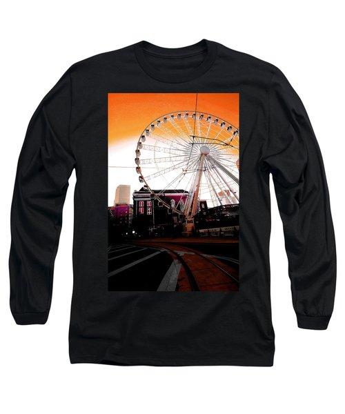 The Wheel  Long Sleeve T-Shirt