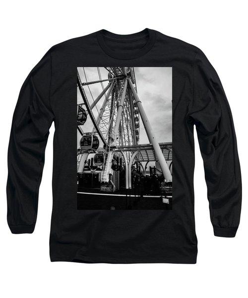 The Wheel Seattle  Long Sleeve T-Shirt