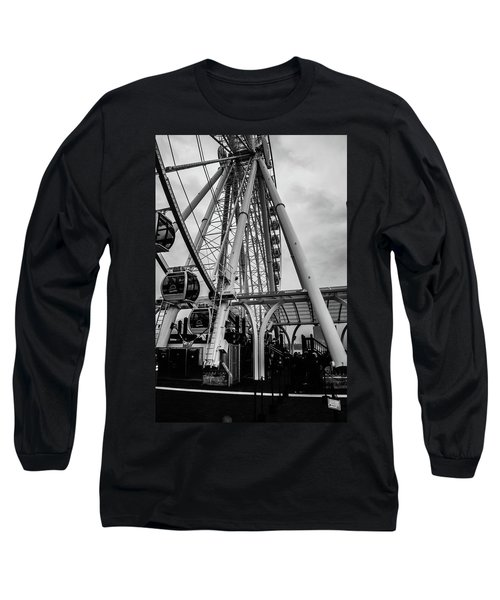 The Wheel Seattle  Long Sleeve T-Shirt