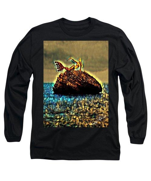 The Whisperer Long Sleeve T-Shirt by Vennie Kocsis