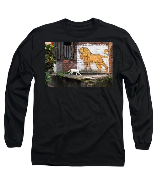 The White Cat Long Sleeve T-Shirt
