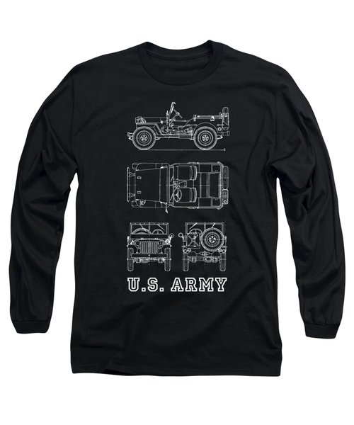 The Willys Jeep Long Sleeve T-Shirt