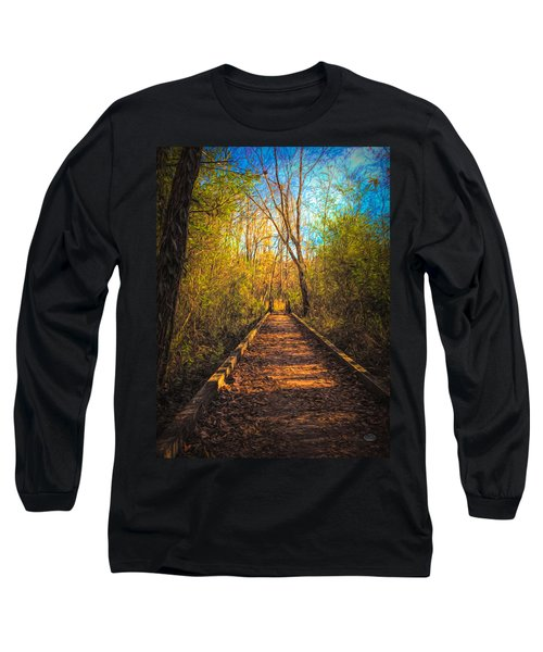 The Wooden Trail Long Sleeve T-Shirt
