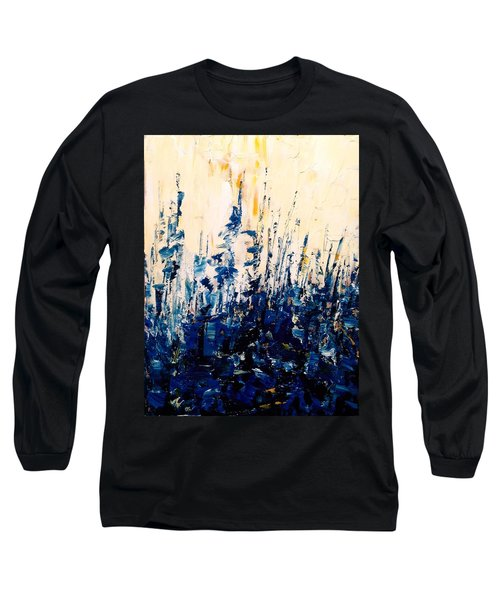 The Woods - Blue No.1 Long Sleeve T-Shirt