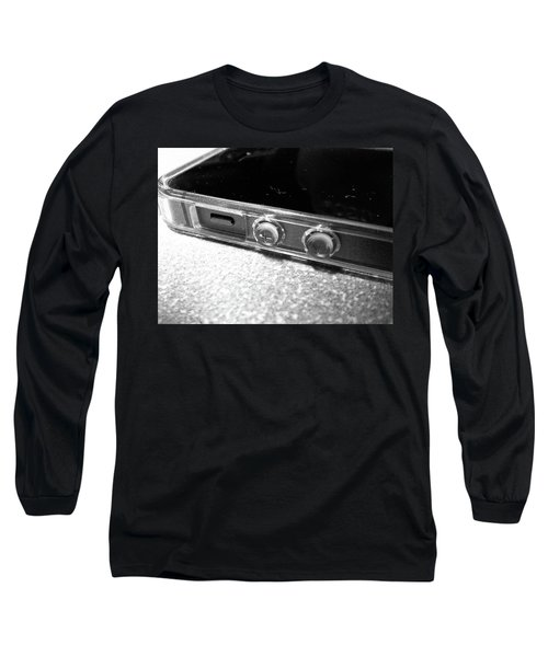 Long Sleeve T-Shirt featuring the photograph The Work Phone by Robert Knight