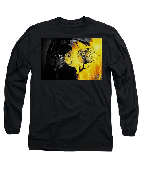 The World Is Mine Long Sleeve T-Shirt by Jessica Shelton