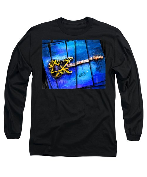 The Yellow Jacket Long Sleeve T-Shirt by Gary Bodnar