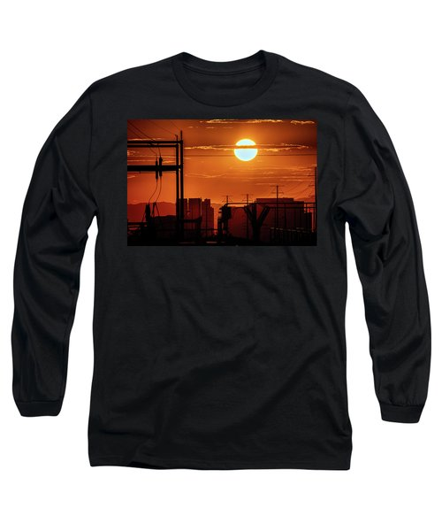 Long Sleeve T-Shirt featuring the photograph There It Is by Michael Rogers