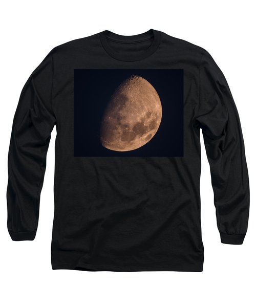 There's A Moon Up Tonight Long Sleeve T-Shirt by Kenneth Cole
