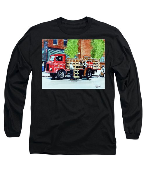 This Bud's For You Long Sleeve T-Shirt by Tom Riggs