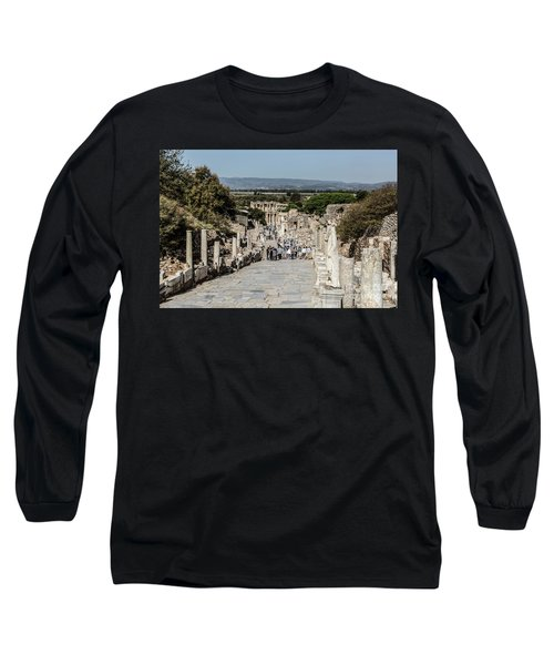 This Is Ephesus Long Sleeve T-Shirt by Kathy McClure
