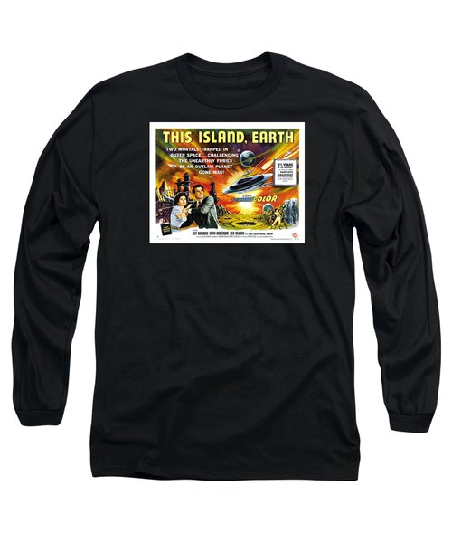 This Island Earth Science Fiction Classic Movie Long Sleeve T-Shirt