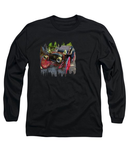 Long Sleeve T-Shirt featuring the photograph This Old Car by Thom Zehrfeld