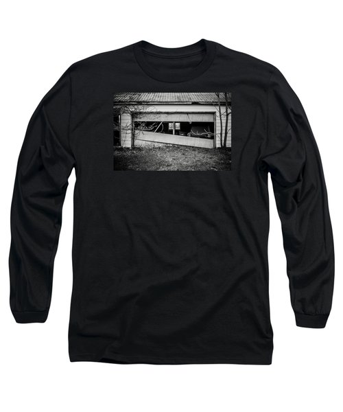 This Was Once The Perfect Hideout Long Sleeve T-Shirt by Off The Beaten Path Photography - Andrew Alexander