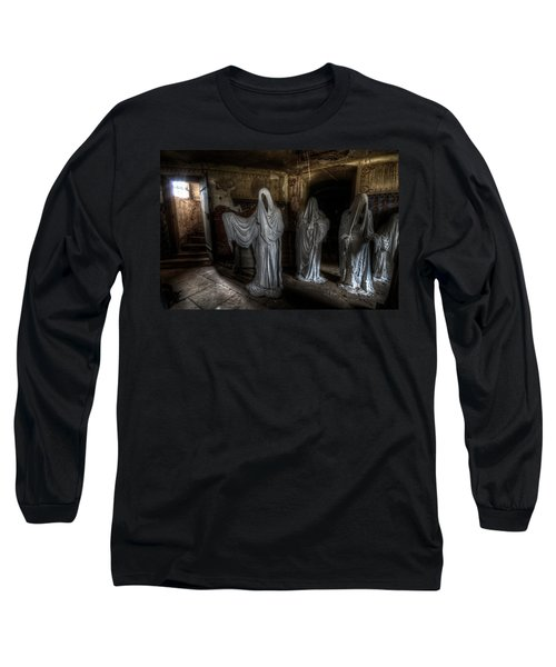 This Way Please Long Sleeve T-Shirt by Nathan Wright