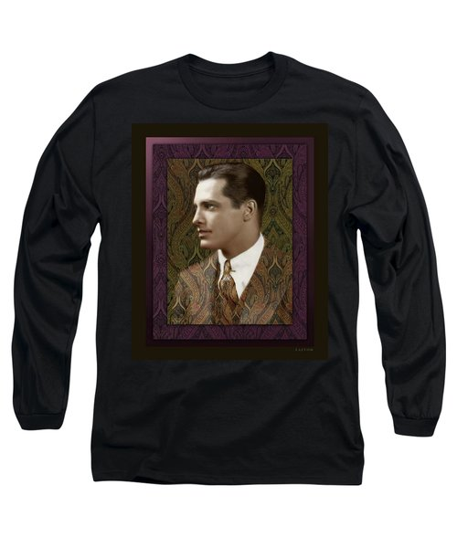 Thomas Long Sleeve T-Shirt by Richard Laeton