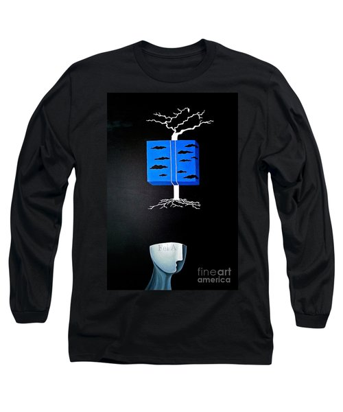 Thought Block Long Sleeve T-Shirt
