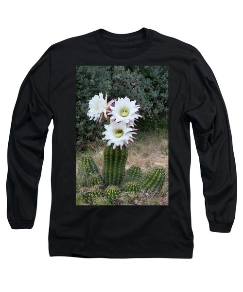 Three Blossoms Long Sleeve T-Shirt by Monte Stevens