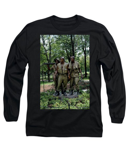Three Servicemen Long Sleeve T-Shirt