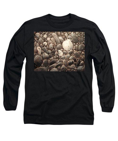 Three Shells Long Sleeve T-Shirt by Mary Hubley