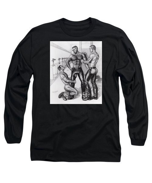 Threeway In Tearoom Long Sleeve T-Shirt