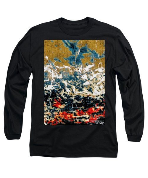 Through The Cracks Long Sleeve T-Shirt by William Wyckoff