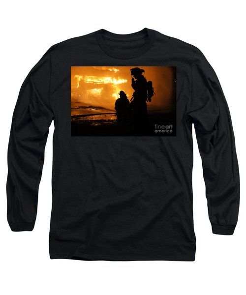 Through The Flames Long Sleeve T-Shirt by Benanne Stiens