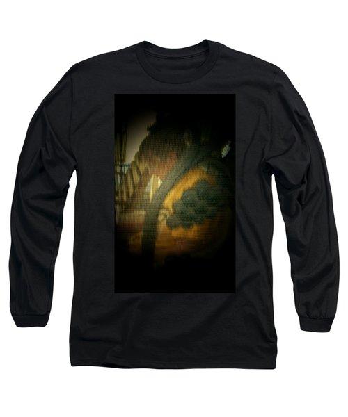 Through The Screen Door Long Sleeve T-Shirt by Lenore Senior