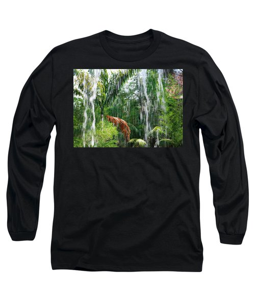 Through The Waterfall Long Sleeve T-Shirt