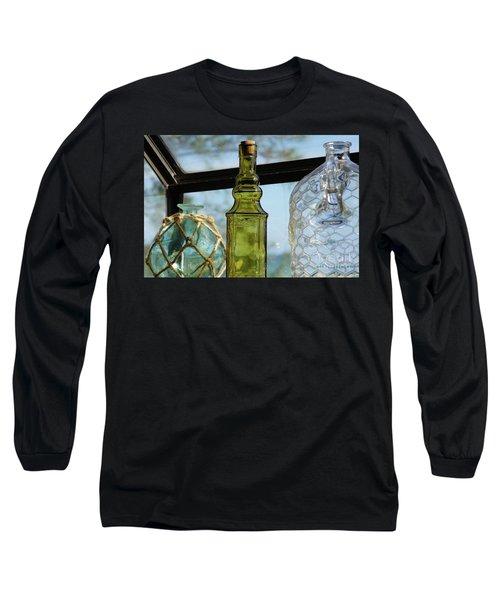 Thru The Looking Glass 3 Long Sleeve T-Shirt by Megan Cohen