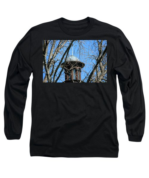 Long Sleeve T-Shirt featuring the photograph Thru The Trees by Cathy Harper