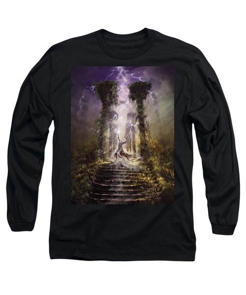 Thunderstorm Wizard Long Sleeve T-Shirt