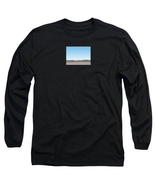 Thw Little San Bernardino Mountains Long Sleeve T-Shirt by Stan  Magnan