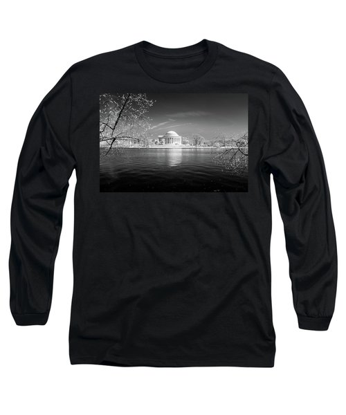 Tidal Basin Jefferson Memorial Long Sleeve T-Shirt