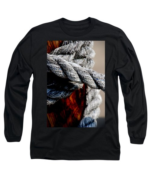Long Sleeve T-Shirt featuring the photograph Tied Together by Susanne Van Hulst