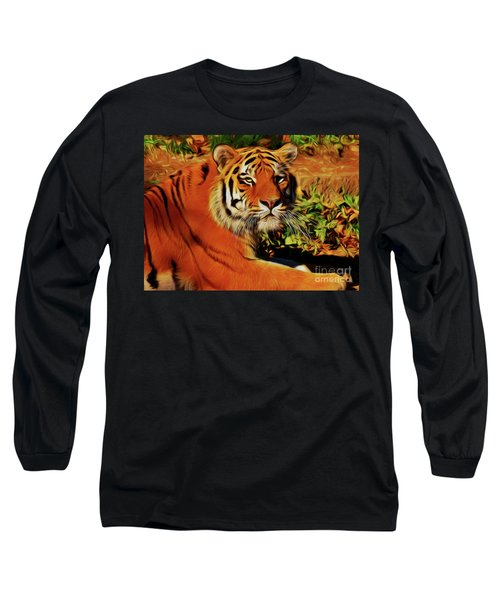 Tiger 22218 Long Sleeve T-Shirt