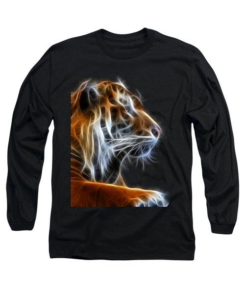 Tiger Fractal 2 Long Sleeve T-Shirt