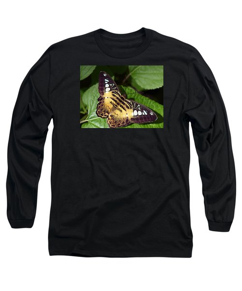 Tiger Print --- Clipper Butterfly Long Sleeve T-Shirt