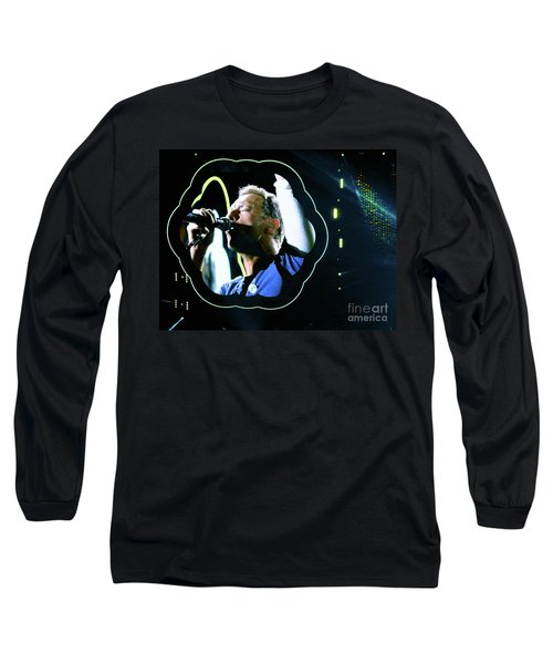 Chris Martin - A Head Full Of Dreams Tour 2016  Long Sleeve T-Shirt by Tanya Filichkin
