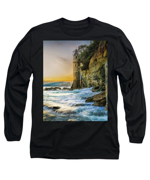 Time Flows I Wait Long Sleeve T-Shirt