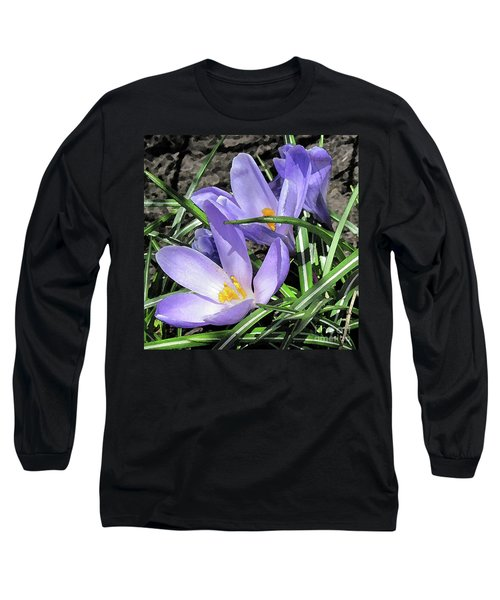 Time For Crocuses Long Sleeve T-Shirt