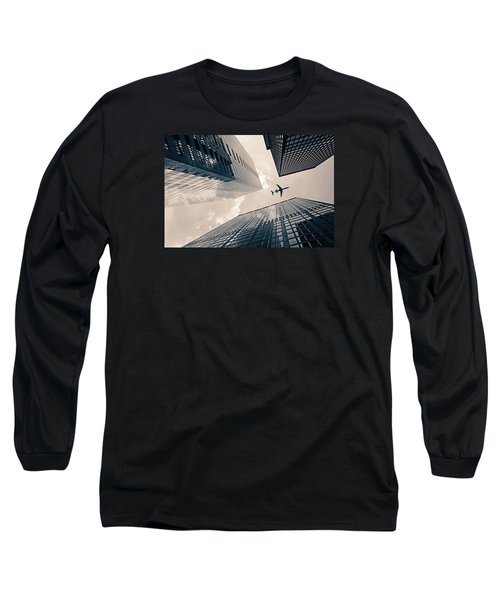 Time Frame Long Sleeve T-Shirt by Iryna Goodall