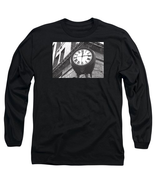 Long Sleeve T-Shirt featuring the photograph Time Keeps Ticking by Rebecca Davis