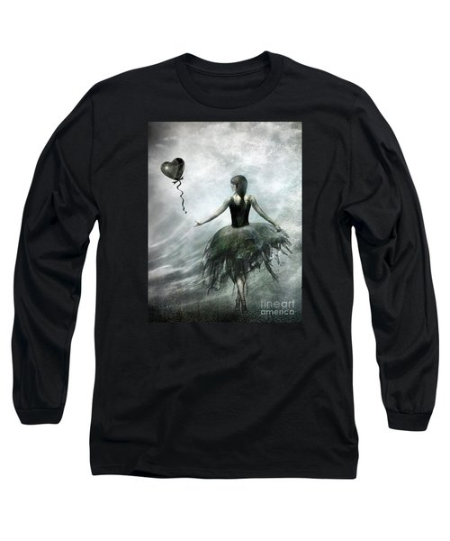 Time To Let Go Long Sleeve T-Shirt by Jacky Gerritsen