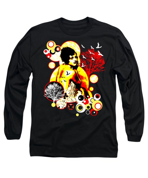 Timeless Flight Long Sleeve T-Shirt by Chris Andruskiewicz