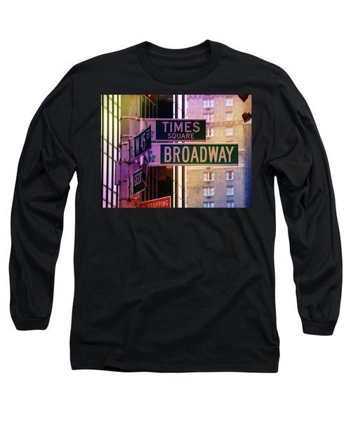 Times Square Long Sleeve T-Shirt