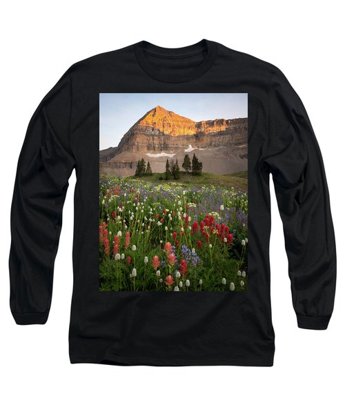 Timpanogos Bouquet Long Sleeve T-Shirt