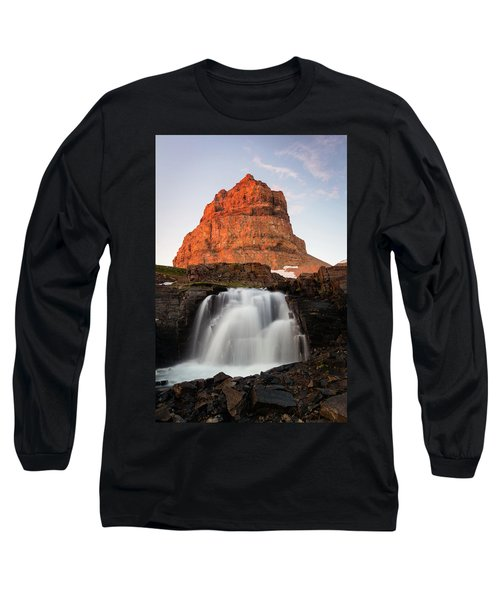 Timpanogos Waterfall Long Sleeve T-Shirt